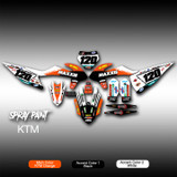 Spray Paint Full-Kit KTM
