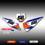 Razor Number Plates KTM