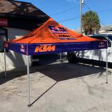 10x10 Custom Canopy