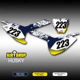 Air Drop Number Plates Husky