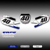 Edge Number Plates Yamaha
