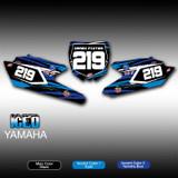 Iced Number Plates Yamaha