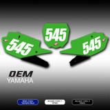OEM Number Plates Yamaha