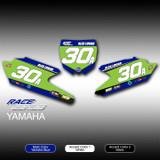 Race Series 1 No. Plates Yamaha