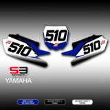 S3 Number Plates Yamaha