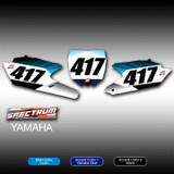 Spectrum Number Plates Yamaha