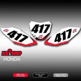 Air Drop Number Plates Honda