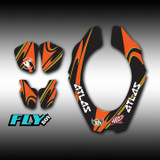 Neckbrace Decals - Fly Boy