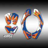 Neckbrace Decals - Ripper