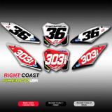 Right Coast Offroad Number Plates Sherco