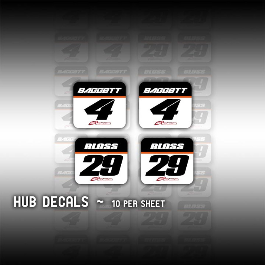 Hub Decals