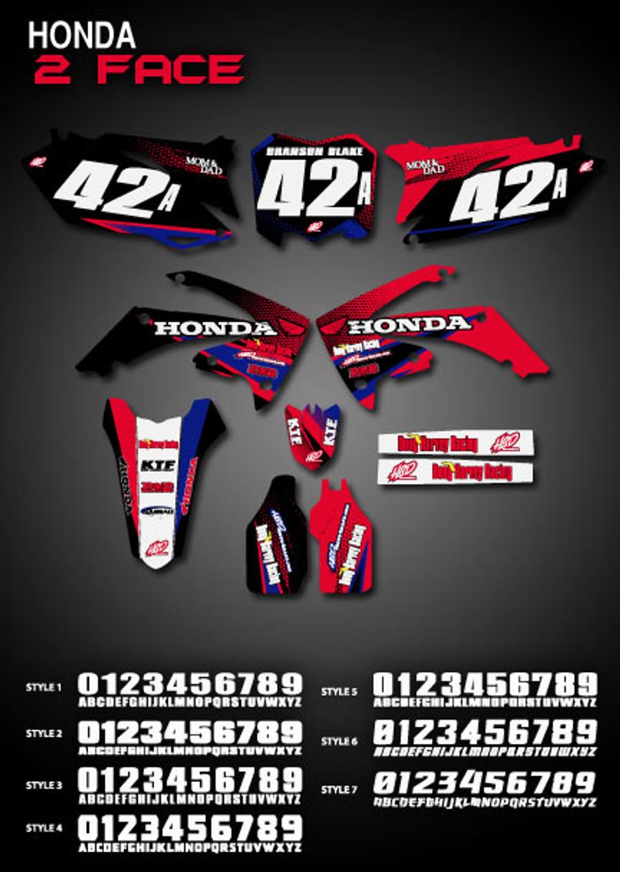 2 Face Full-Kit Honda