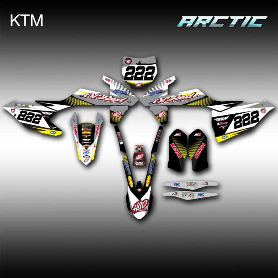Arctic Full-Kit KTM