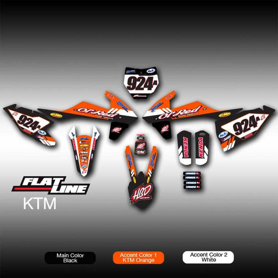 Flat Line Full-Kit KTM