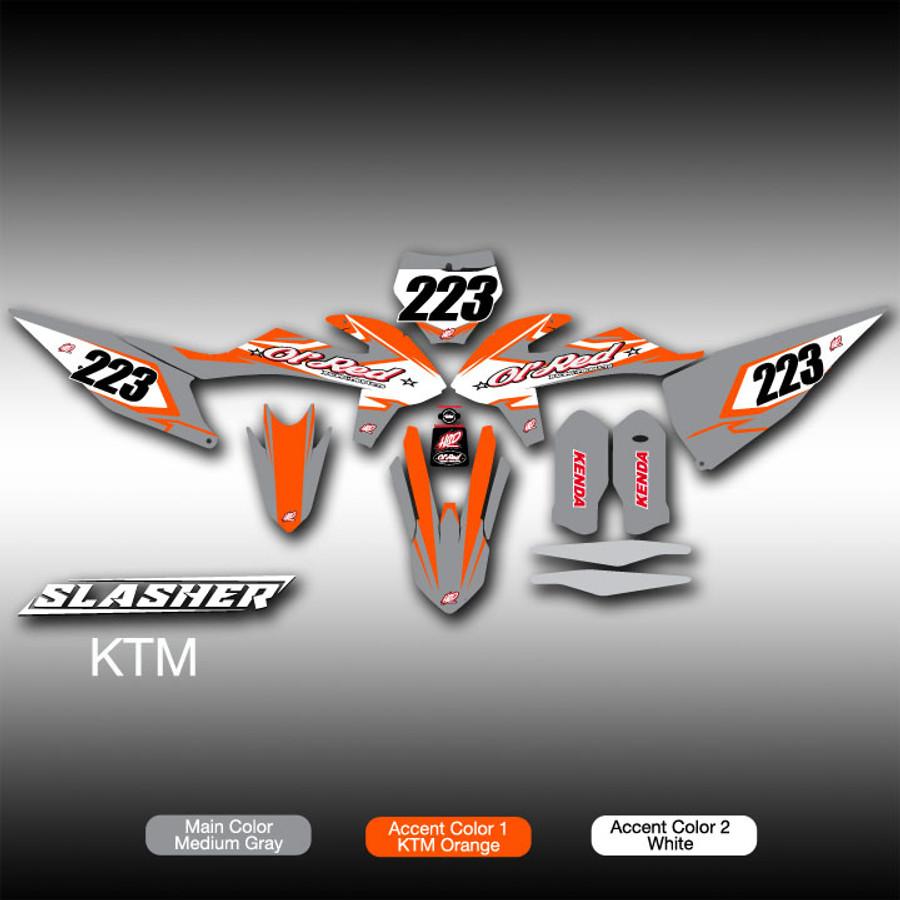 Slasher Full-Kit KTM