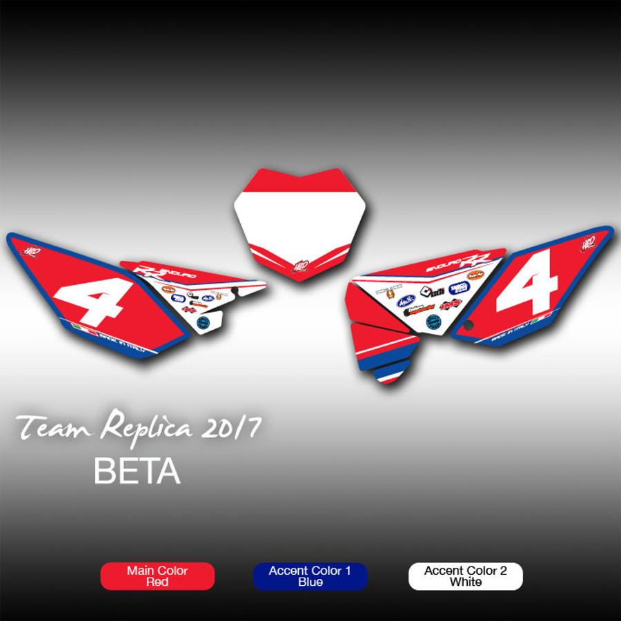 Replica 2017 No. Plates Beta