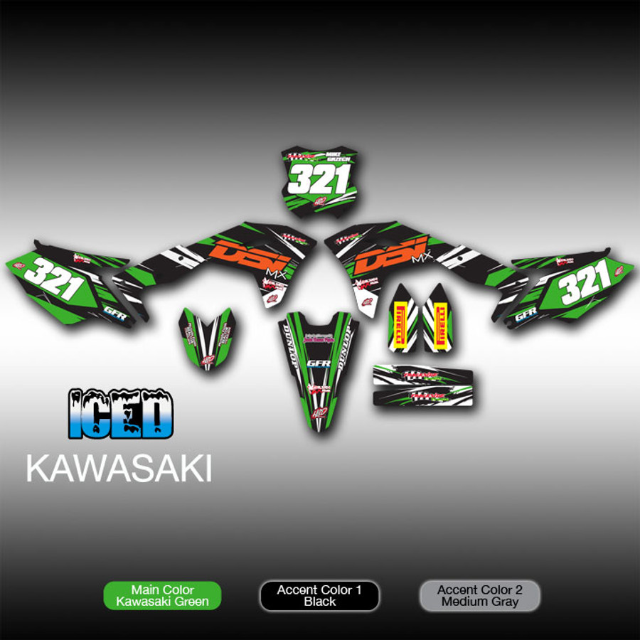 Iced Full-Kit Kawasaki