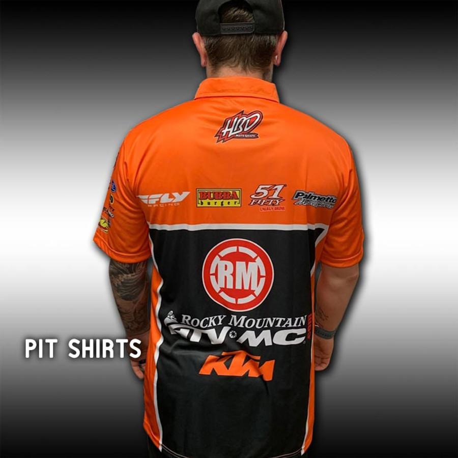 Dye Sub Pit Shirts