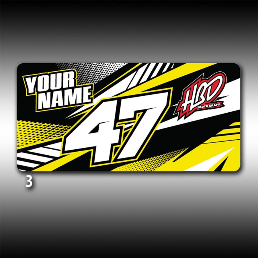 Personalized License Plate - 3