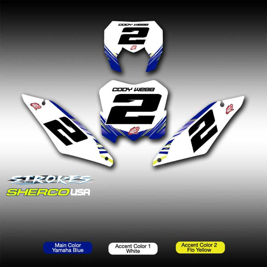 Strokes Number Plates Sherco