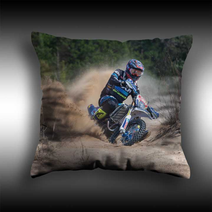 """16"""" or 18"""" Custom Pillow Name & Number or Photo"""