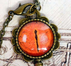 Phoenix Key and Tears Pendant