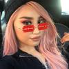 Razorblade Glasses, red / black