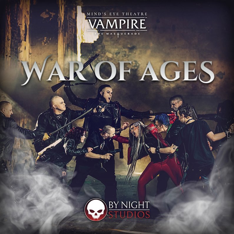 Press Announcement for Mind's Eye Theatre: Vampire: The Masquerade - War of Ages Kickstarter