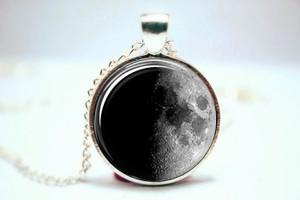 Moon Pendant- Half Moon