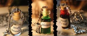 The Bottle Bundle (3 necklaces)