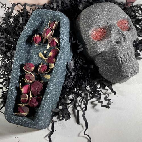Skull and Coffin Bath Bomb Bundle