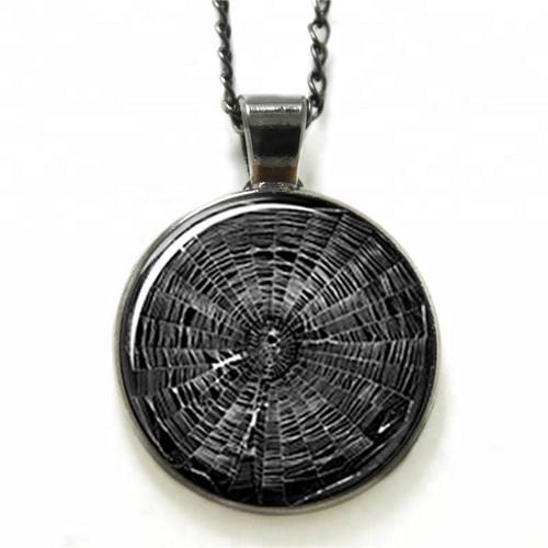 Spiderweb Pendant