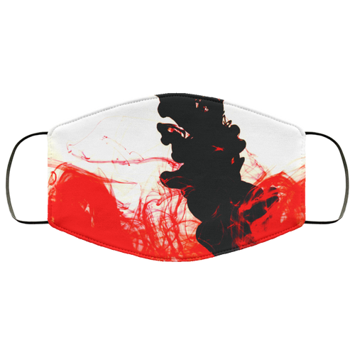Blood and Ink - Face Mask Med/ large