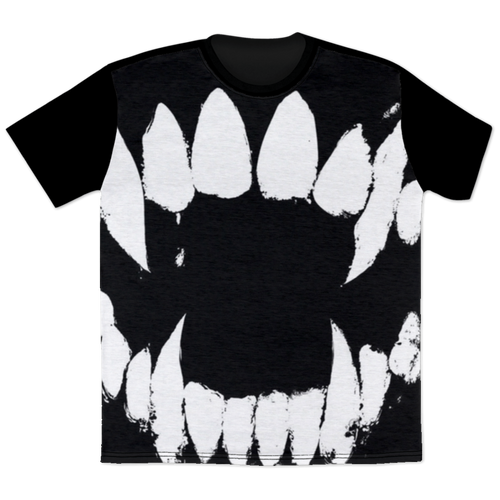 Fangs -  All Over Print T-Shirt