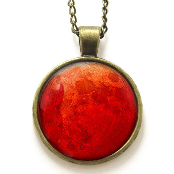 Blood  Moon Pendant