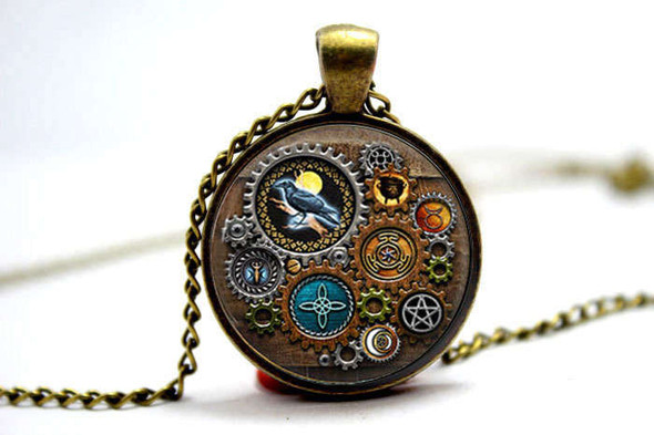 Steam Punk Pendant