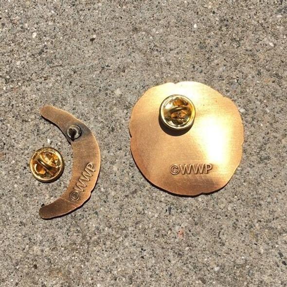 Silver Fang Pin