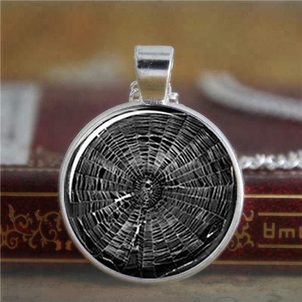 Spiderweb Pendant