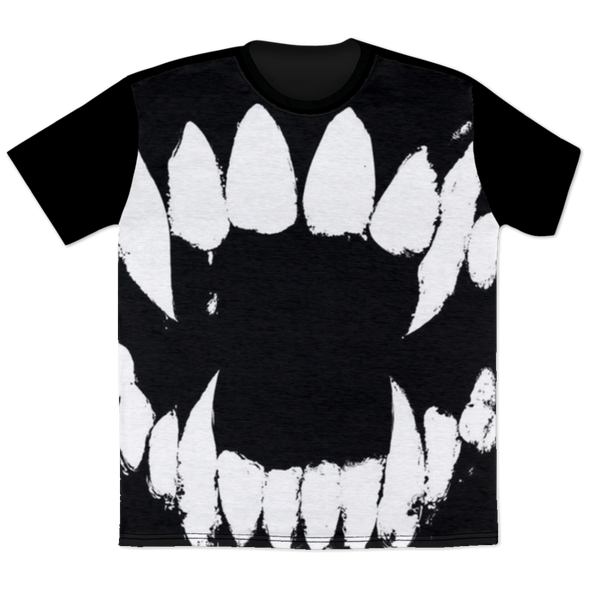 Fangs -  All Over Print T-Shirt