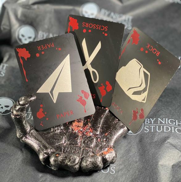 Vampire RPS Metal Cards