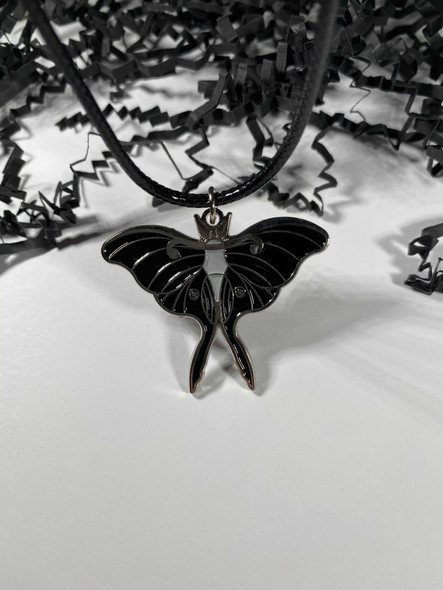 Large Changeling Moth Charm/ Pendant