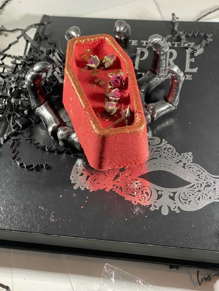 Vampire Coffin Bath Bomb