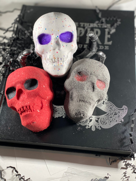 Three Skulls Bath Bomb Bundle