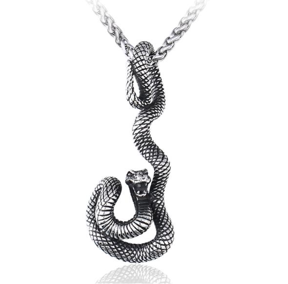 Dancing Snake Pendant