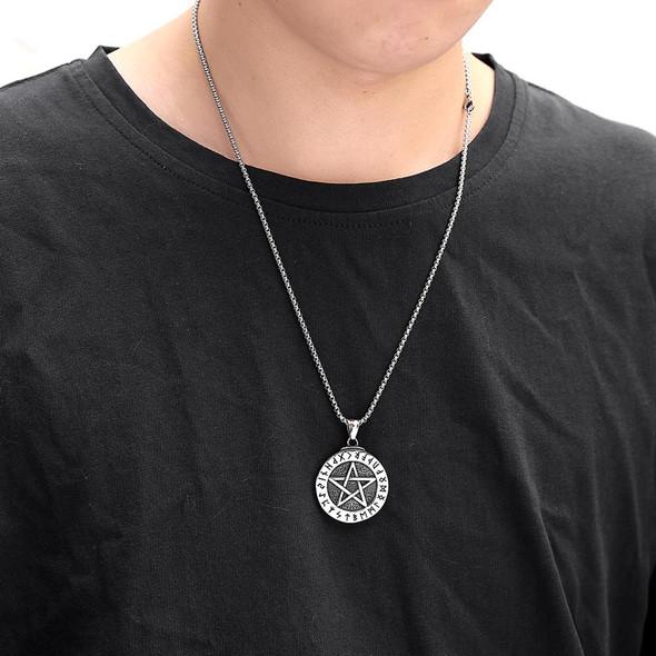 Rune Pentagram Pendant