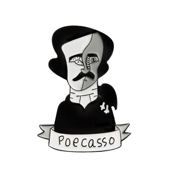 Poecasso Pin