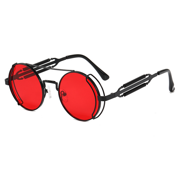Red Double Rimmed Glasses