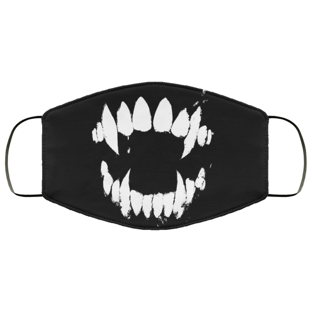 Large Fangs - Face Mask Med/ large