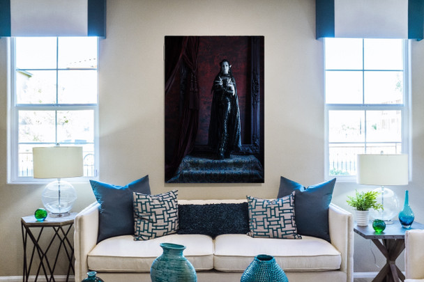 Our largest canvas is a stunning focal piece ofr any room, as shown in this mock up!