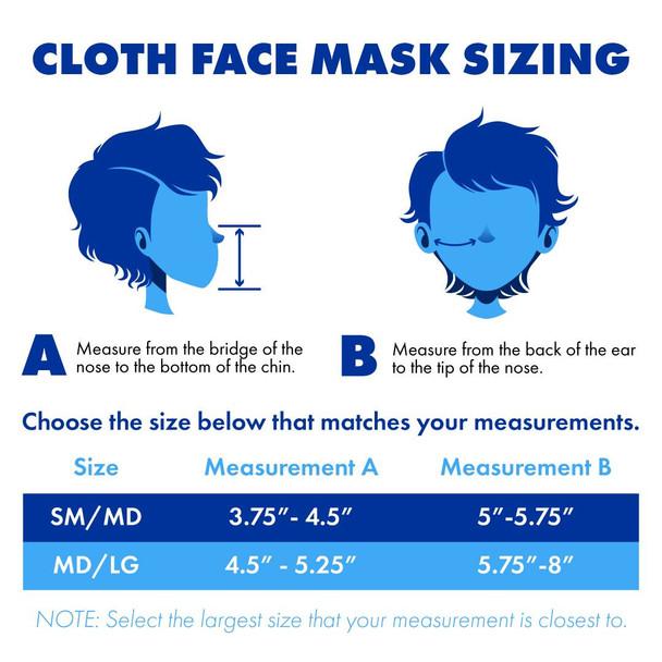BNS Halloween Logo - Face Mask Med/ large